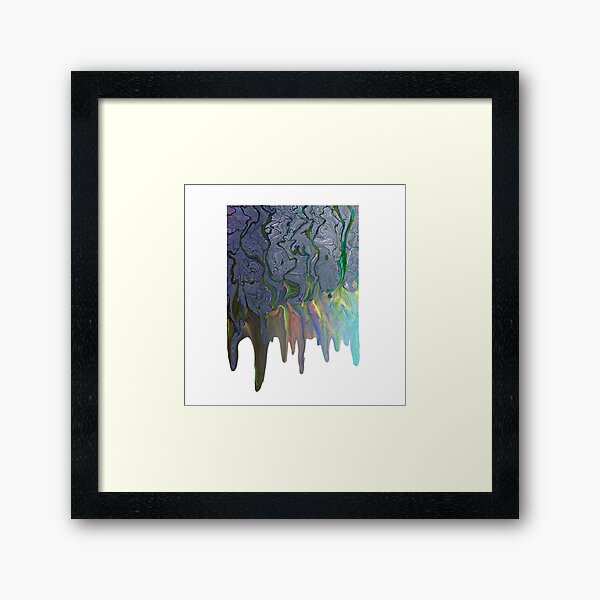 Dripping Alt-J An Awesome Wave Album Cover Framed Art Print