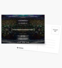 I LOVE YOU DAD Postcards