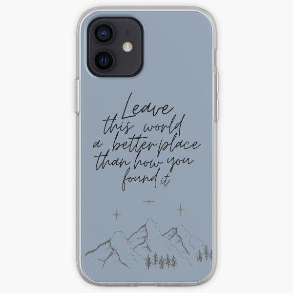 Suriel Quote iPhone Soft Case