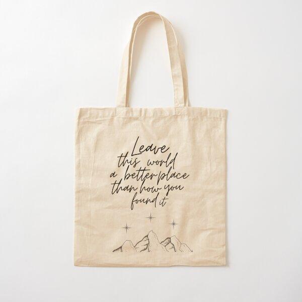 Suriel Quote Cotton Tote Bag