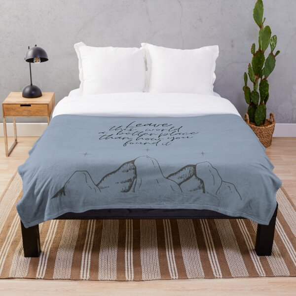 Suriel Quote Throw Blanket