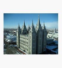 Salt Lake City Temple Photographic Print