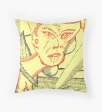 imp early vamporism Throw Pillow