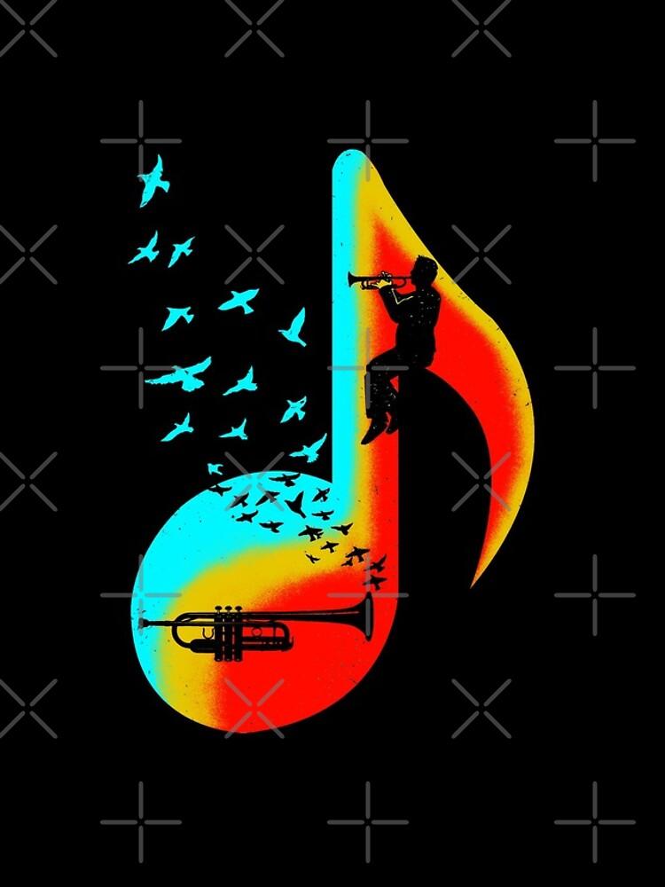 Music Trumpet Player by barmalisiRTB
