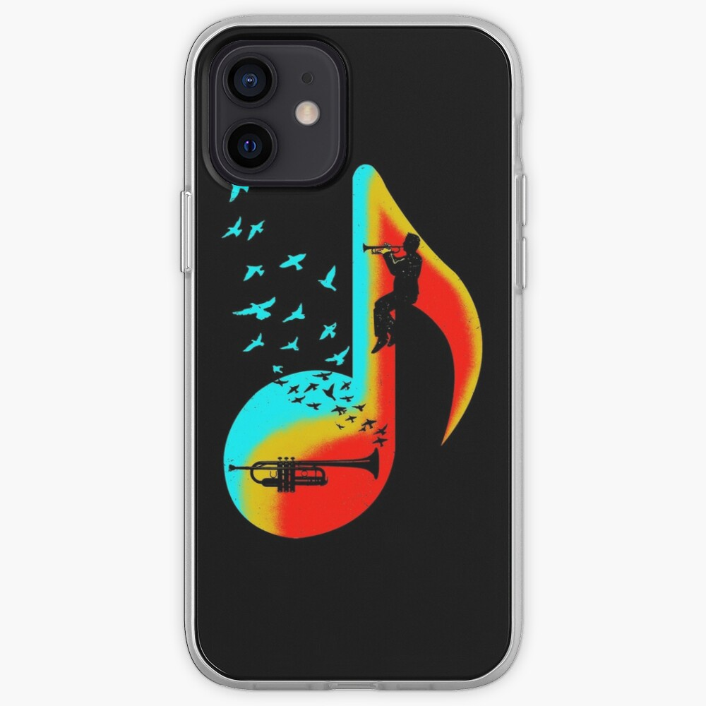 Music Trumpet Player iPhone Case & Cover