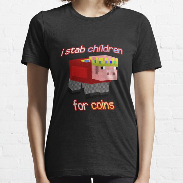Technoblade I stab Children for Coins Essential T-Shirt