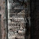 Rye, East Sussex - Prison Plank by rsangsterkelly