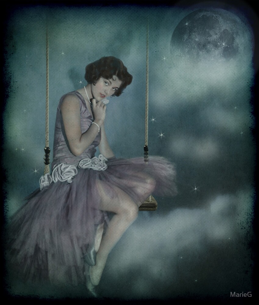 On the other side of the clouds... von MarieG