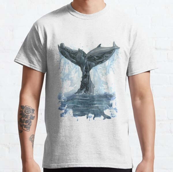 Whale Tail Classic T-Shirt
