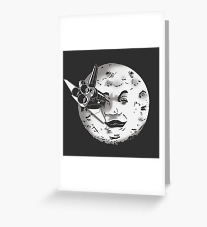 Méliès's moon: Times are changing. Greeting Card