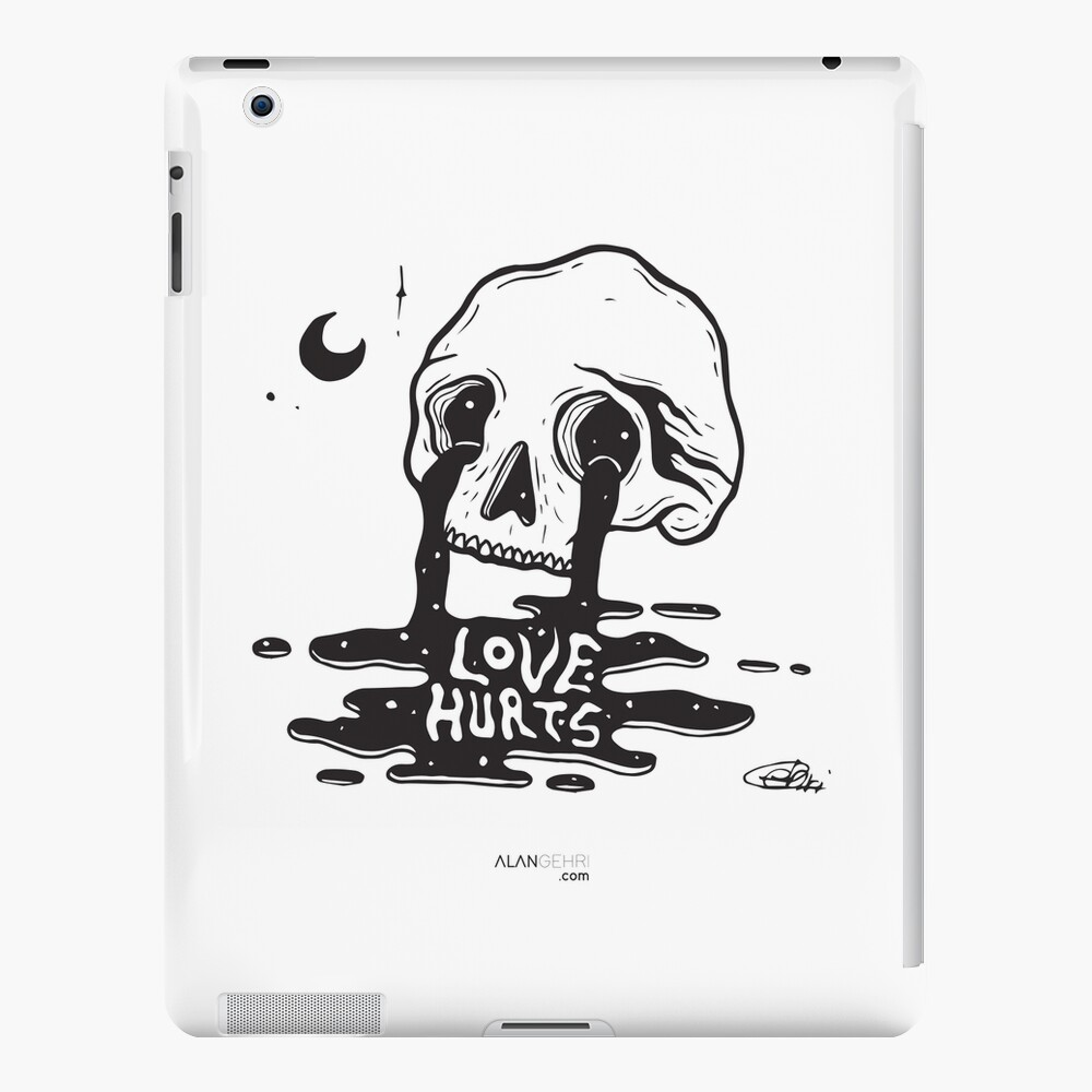 Love is hard to find, hard to keep, and hard to forget iPad Case & Skin