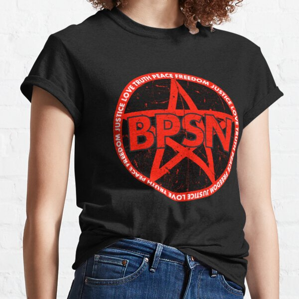 BPSN Love Truth Peace Freedom Justice Classic T-Shirt