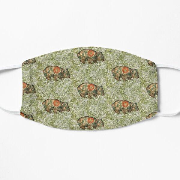 Rossetti's Wombat in Green Marigold Mask