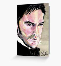 Richard Armitage, Thornton, watercolor Greeting Card