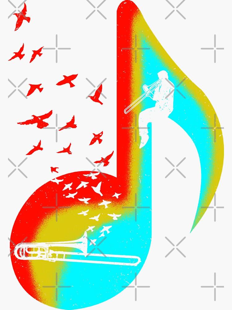 Music Trombone Player by barmalisiRTB
