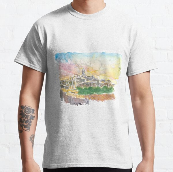 Impressive Siena Skyline From Glorious Past  Classic T-Shirt
