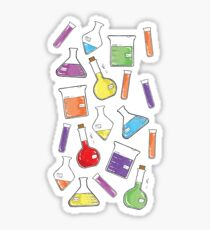 ceLABORATORY glassware Sticker