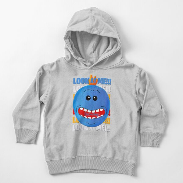 LOOK AT ME...Mr Meeseeks Toddler Pullover Hoodie