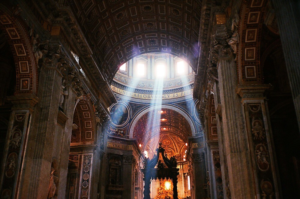 St. Peter's Basilica, Rome by Sam Gregg
