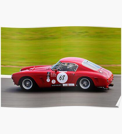 Ferrari 250 No 68 Poster