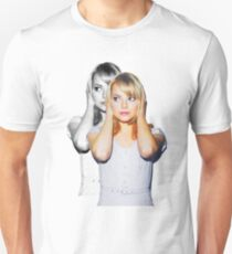 Emma Faded Double Print Unisex T-Shirt