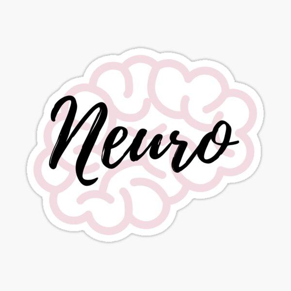 Neuroscience Glossy Sticker
