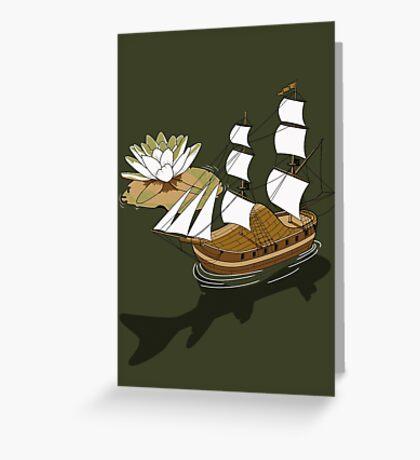 The wandering dutch. Greeting Card