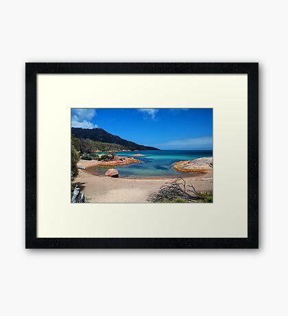 Freycinet bay Framed Print
