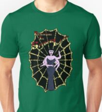 Spider Lady's Web (Stickers and Light Shirts) Unisex T-Shirt