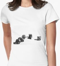 Dice (Fantasy-Dice) D&D Womens Fitted T-Shirt