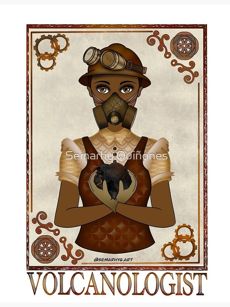 Volcanologist (STEAMpunk Art) by semarhy