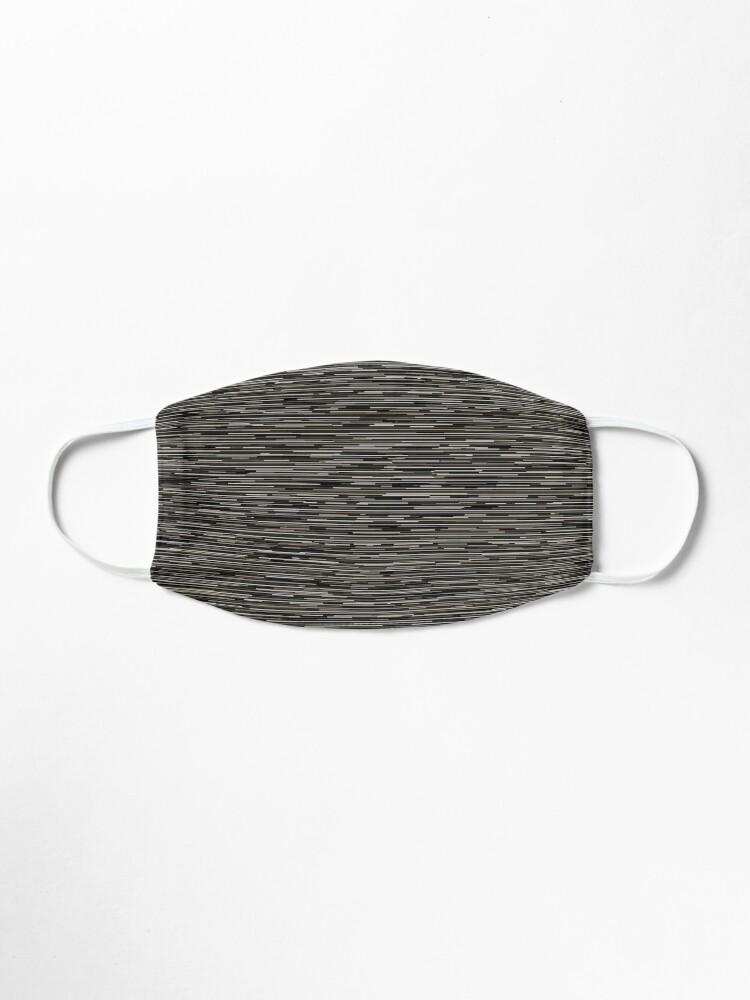 Alternate view of Modern Neutral Black Gray Lines Mask