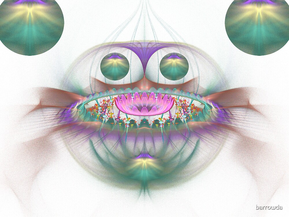 Flower Field #5: Swallowed by the Jonas Bros. Wail  (G0845) by barrowda