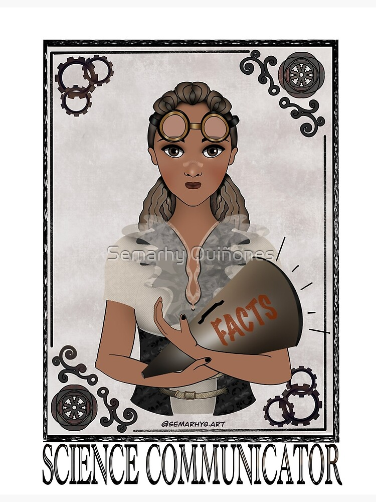 Science Communicator (STEAMpunk Art) by semarhy