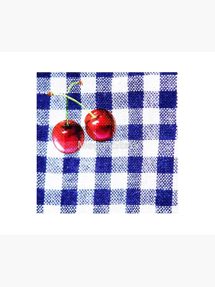 Cherries and Gingham by MeganSteer