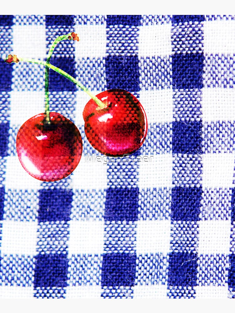 Cherries and Gingham by MeganSteer