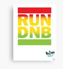 RUN DNB Design - Fade Canvas Print