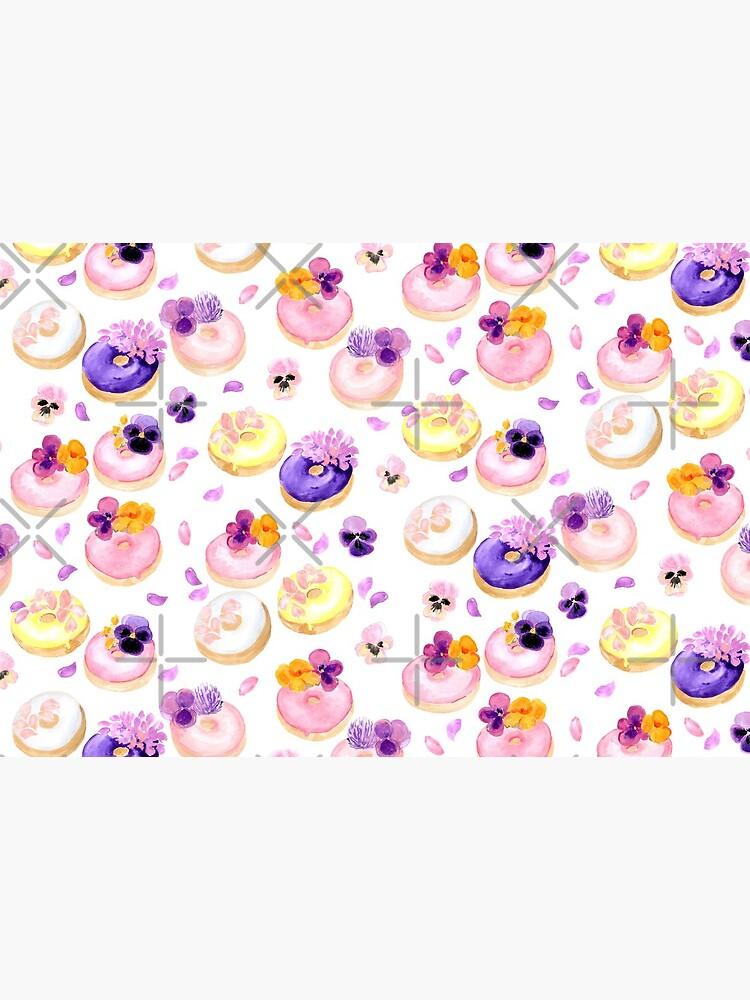 Floral donuts by blursbyai