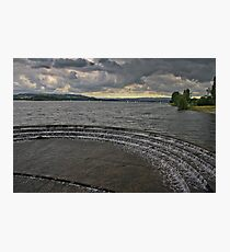 Overflow on the Lake.. Photographic Print