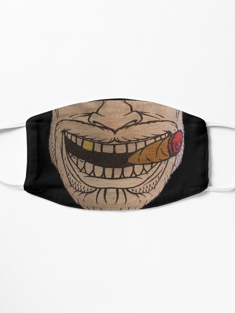 Alternate view of Smoke em mask design Mask