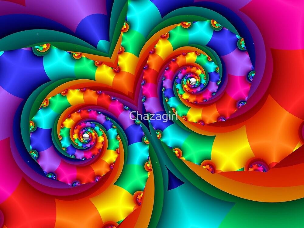 Rainbow Mask by Chazagirl