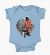 Retired Astronaut Major Tom One Piece - Short Sleeve