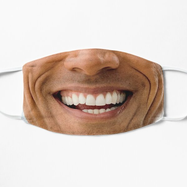 Big smile hapiness face  Mask