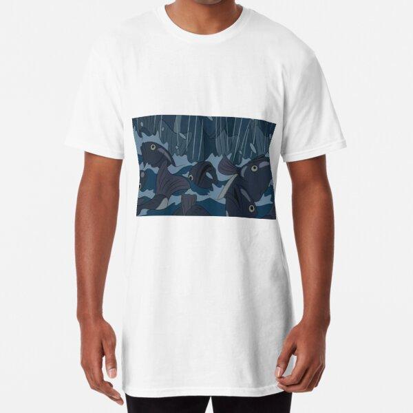 Flood of Fish Long T-Shirt