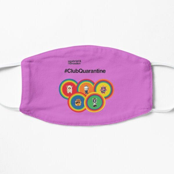 Gabriel & Dresden #ClubQuarantine: The Rainbow Family Flat Mask