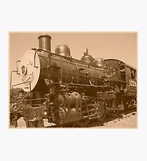 Old Fashioned Train Photographic Print
