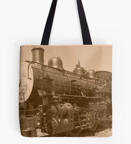 Old Fashioned Train Tote Bag