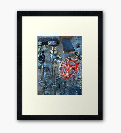 Valve Framed Print
