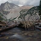 Snowmass Lake in August by Kasey Lilly