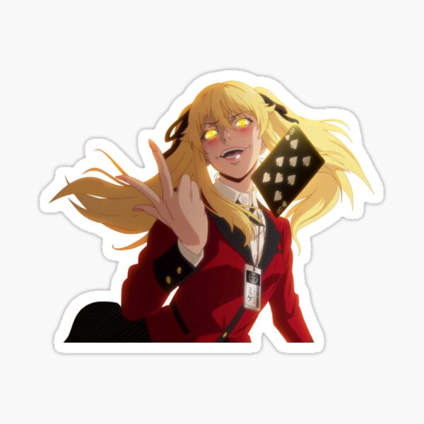 Saotome Mary sticker // Kakegurui Sticker